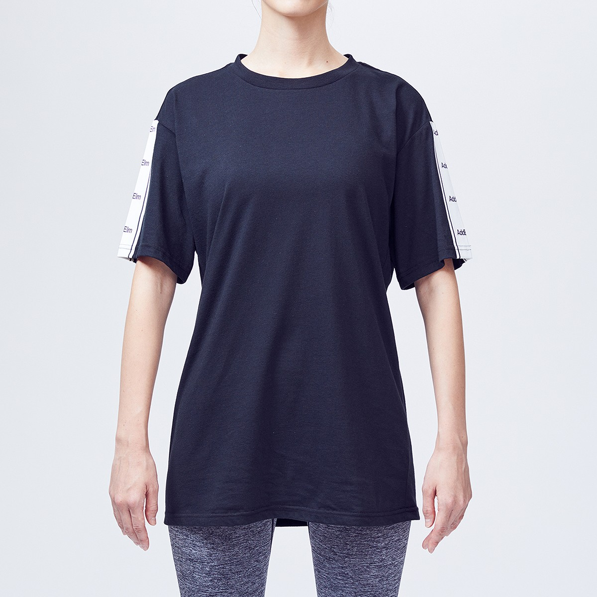 【add.03】LINE  SLEEVE TEE ユニセックス